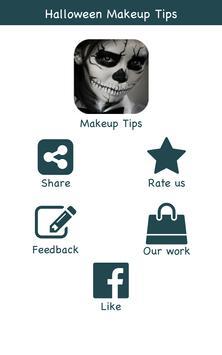 Halloween Makeup Ideas poster