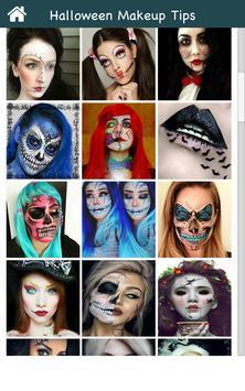 Halloween Makeup Ideas screenshot 1