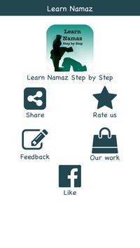 Learn Namaz Step by Step poster