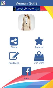 Women Business Suits Design Ideas poster