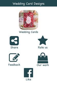 Wedding Card Designs poster