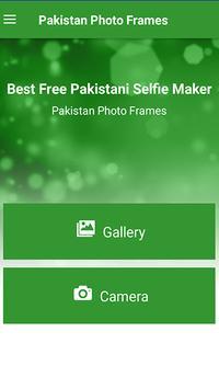 Photo editor- Pakistan Flag Photo Frame & Stickers screenshot 1