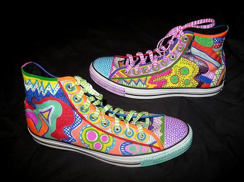 Painted Shoes Ideas screenshot 2