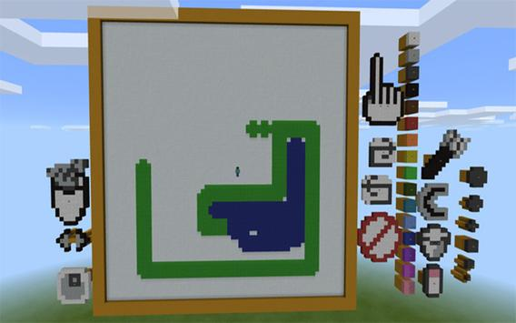 Painting Map for Minecraft MCPE poster