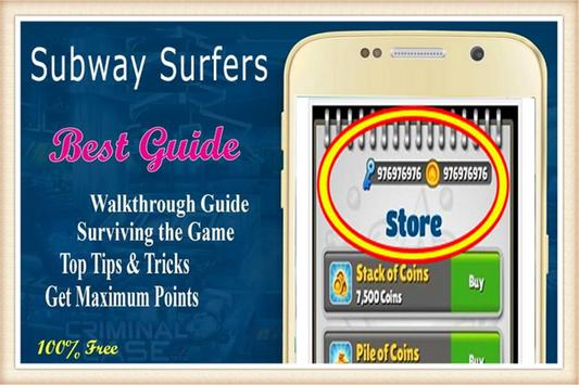 Surfers Guide By Subway screenshot 1