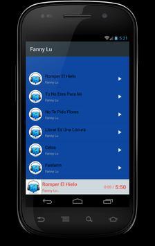 Fanny Lu musica gratis screenshot 2