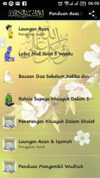 Panduan Menunaikan Solat, Zikir & Doa poster