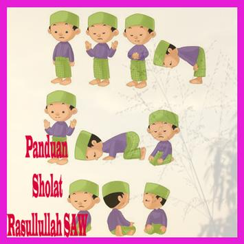Panduan sholat rasulullah SAW poster