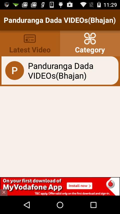 Panduranga Dada VIDEOs(Bhajan) for Android - APK Download