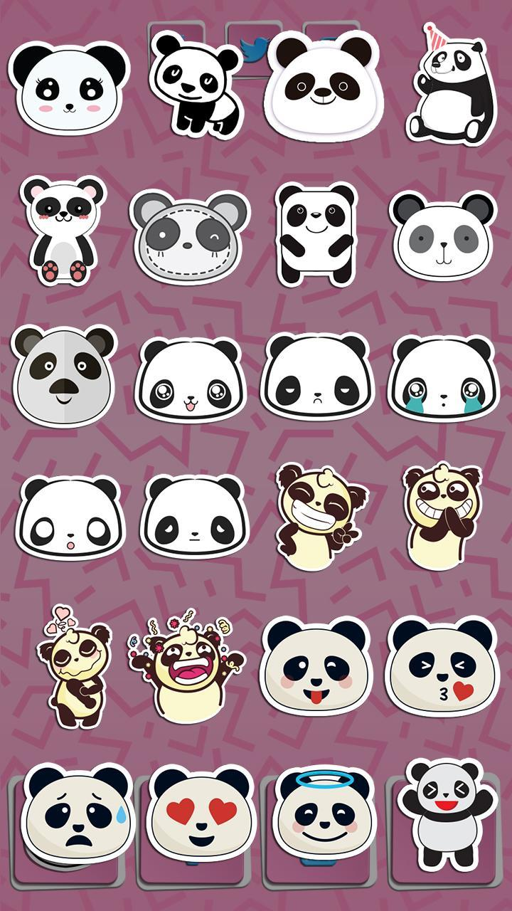 Panda Stickers Kawaii Editor For Android APK