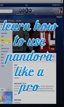 Tips de Pandora Radio Music apk screenshot