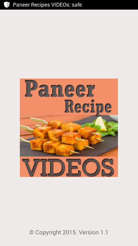 Paneer recipes videos apk download free entertainment app for paneer recipes videos poster forumfinder Image collections