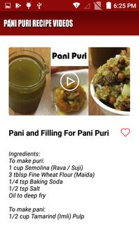 Pani puri recipe videos for Android - APK Download