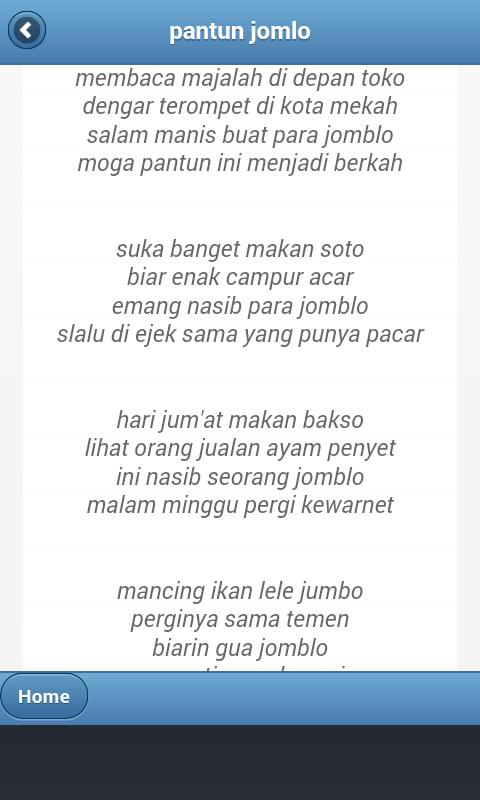 Pantun Lucu Jualan Pantun For Android APK Download 5037