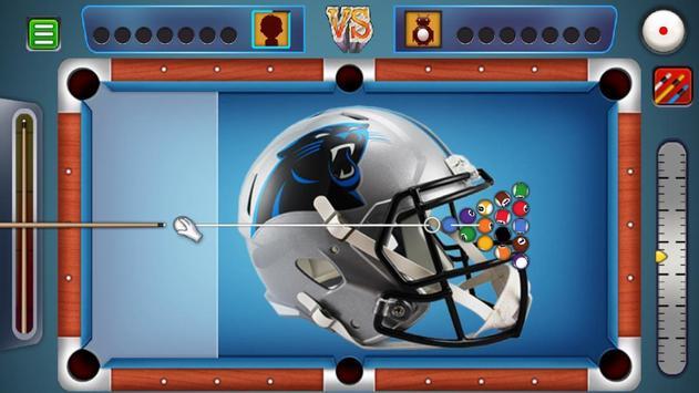 Billiards Panthers Caroline Theme screenshot 1