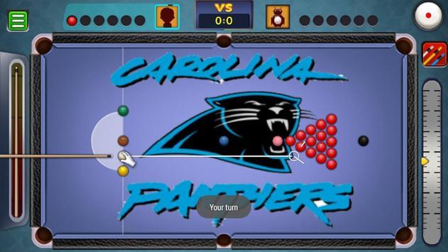Billiards Panthers Caroline Theme screenshot 3