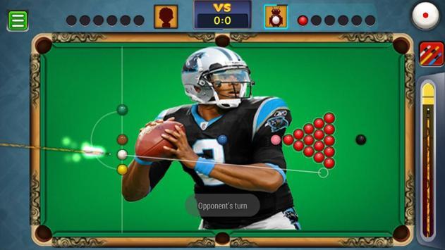Billiards Panthers Caroline Theme screenshot 4