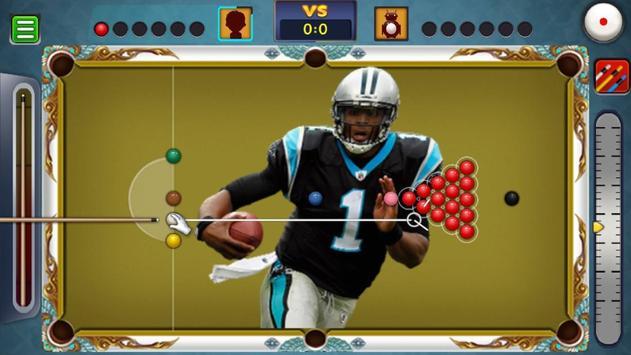 Billiards Panthers Caroline Theme screenshot 5