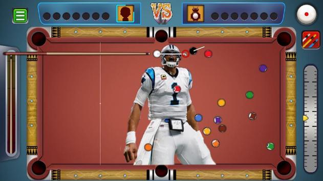 Billiards Panthers Caroline Theme screenshot 6