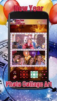New Year Photo Collage Art apk screenshot