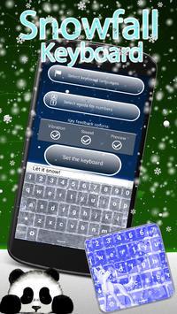Snowfall Keyboard Changer apk screenshot