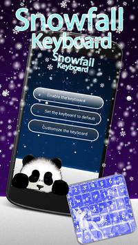 Snowfall Keyboard Changer poster