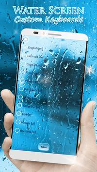Water Screen Custom Keyboards poster