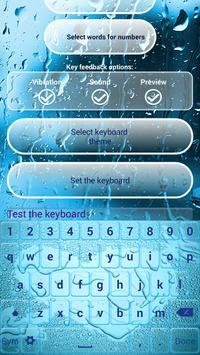 Water Screen Custom Keyboards screenshot 3