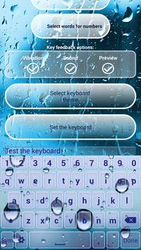 Water Screen Custom Keyboards screenshot 4