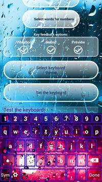 Water Screen Custom Keyboards screenshot 5