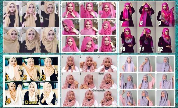 Pashmina Hijab Tutorial Ideas screenshot 3