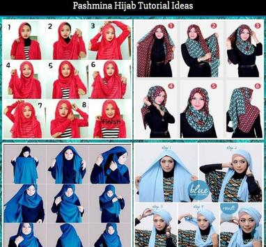 Pashmina Hijab Tutorial Ideas poster