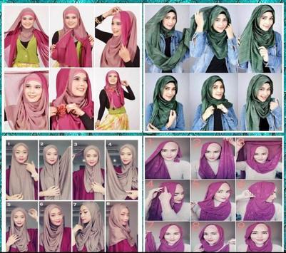 Pashmina Hijab Tutorial Ideas screenshot 1