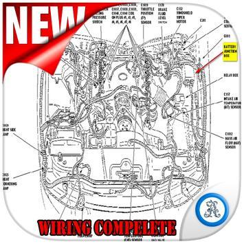 Wiring diagram for Passenger car poster