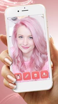 Pastel Hair Color Changer apk screenshot