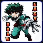 How To Draw Boku No Hero icon