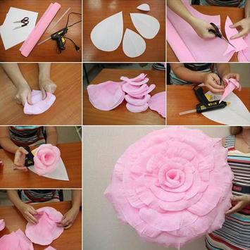Paper Flower Craft poster