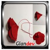 Paper Flower Craft Tutorial icon