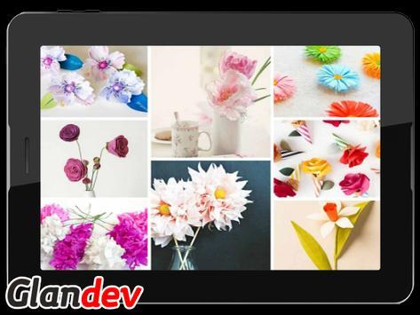 Paper Flower Craft Tutorial screenshot 5