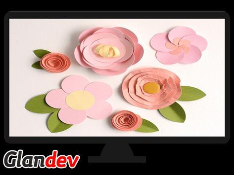 Paper Flower Craft Tutorial screenshot 6