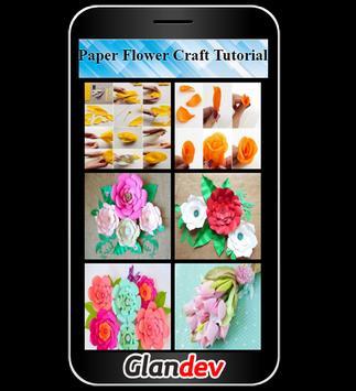 Paper Flower Craft Tutorial screenshot 1