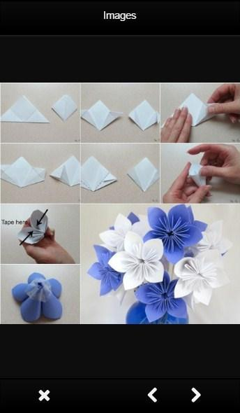 How to Fold Paper Flowers: 10 Steps (with Pictures) - wikiHow | 590x344