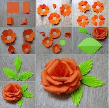 How to make paper flower apk download free art design app for how to make paper flower apk screenshot mightylinksfo