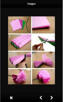 DIY Paper Flowers screenshot 1