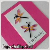 Paper Quilling Card icon