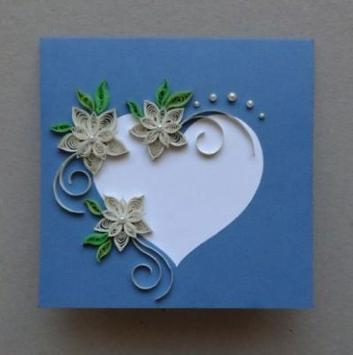 Paper Quilling Card poster