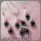 Paper Quilling Earrings icon