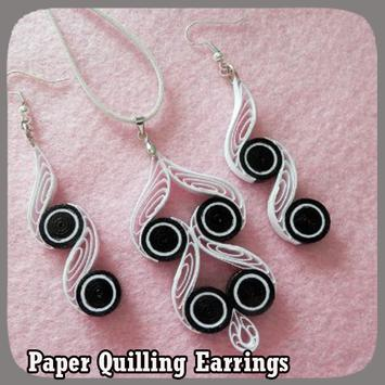 Paper Quilling Earrings poster