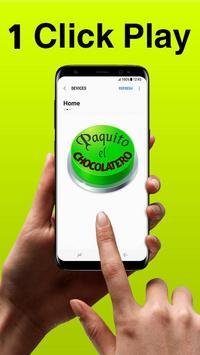 Paquito El Chocolatero Button (1 Click Play) poster