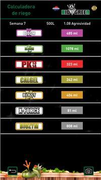 Biogreen calculadora apk screenshot